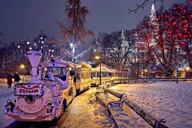 Vánoční trh ve Vídni