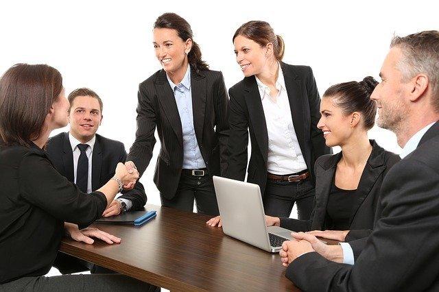 skupinová pracovní schůzka