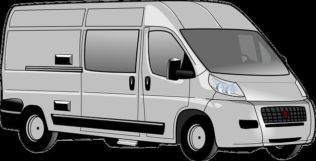 transportní dodávka
